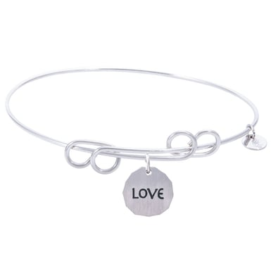 Rembrandt Carefree Bangle With Love Charm