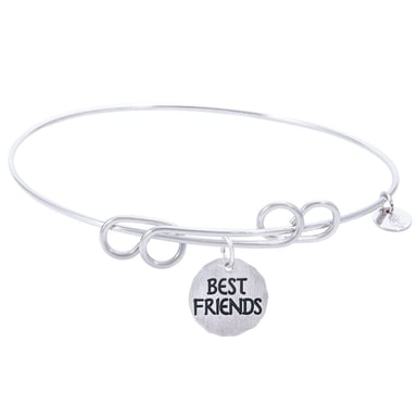 Rembrandt Carefree Bangle With Best Friends Charm