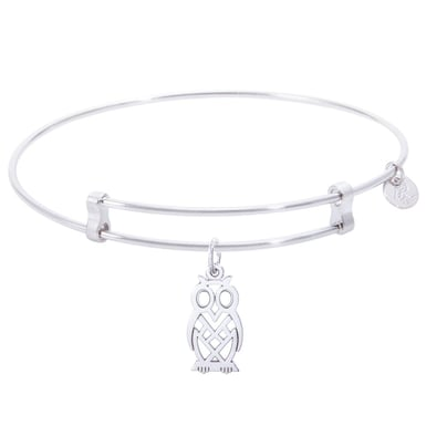 Rembrandt Confident Bangle With Owl Charm