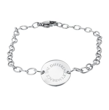 Embrace the Difference® Chain Link Bracelet