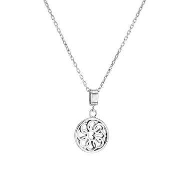 Embrace the Difference® Dot Pendant Necklace, Sterling Silver