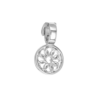 Embrace the Difference® Logo Clip-On Charm, Sterling Silver