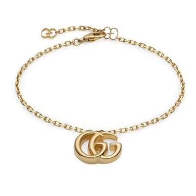 Gucci, Double G 18K Yellow Gold Bracelet