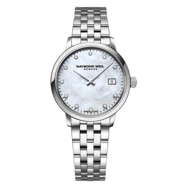 Raymond Weil Toccata Ladies White Mother of Pearl Watch