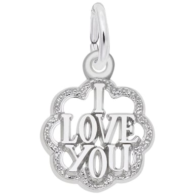 "Rembrandt ""I Love You"" Charm"