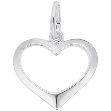 "Rembrandt ""Open Heart"" Charm"