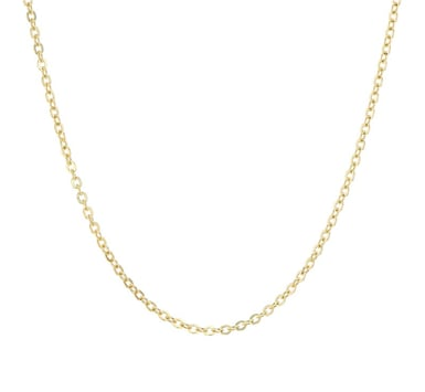 14K Anchor Flat Chain, Yellow Gold, Style #1501-18 Inch