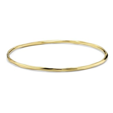 Ippolita Classico Thin Faceted Bangle, 18K Yellow Gold