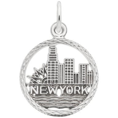 "Rembrandt ""New York Skyline"" Charm"
