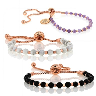 Embrace The Difference - Gemstone Collection - Bolo Bracelet Bundle