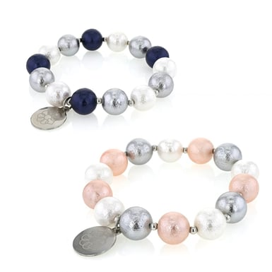 Embrace The Difference - Mat Pearl Stretch Bracelet Bundle